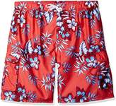 Kanu Surf Men's Big Grenada Extended Size Floral Volley Swim Trunk