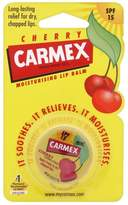 Carmex Cherry Flavour Lip Balm Pot - SPF15 - Pack of 6