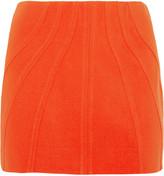 Diane von Furstenberg Cameroon ponte mini skirt