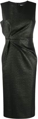 P.A.R.O.S.H. glittered midi shift dress