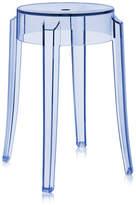 Kartell Charles Ghost Stool 45cm - Light Blue