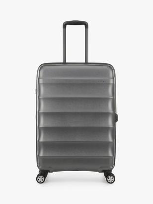 Antler Juno Metallic DLX 4-Wheel 68cm Expandable Medium Suitcase