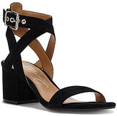 Arturo Chiang Arturo Chang Hammil Suede Banded Ankle Strap Block Heel Dress Sandals