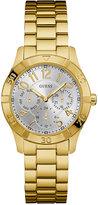 GUESS Women's Essence Gold-Tone Stainless Steel Bracelet Watch 36mm U0816L2