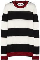 Mcq Alexander Mcqueen Striped Wool Jumper