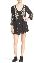 Free People Women's 'Sweet Tennessee' Embroidered Minidress
