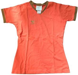 adidas Orange Cotton Top for Women
