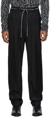 Saint Laurent Black Tailoring Jogger Trousers