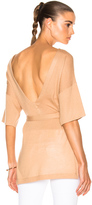Soyer Low Back Tunic Top in Neutrals.