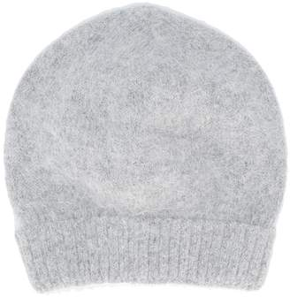 Roberto Collina plain knitted hat