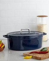 Martha Stewart Collection Collector's Enameled Cast Iron 8 Qt. Oval Casserole