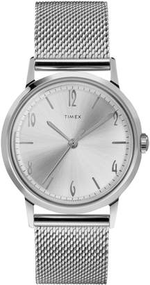 Timex Marlin Hand-Wind Stainless Steel Mesh Bracelet Watch