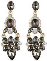 Cara Accessories Large Hinged Drop Earrings