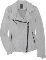 Lot 78 Lot78 Cotton-jersey biker jacket