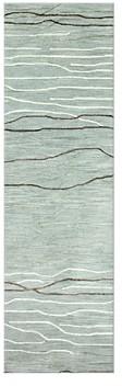 Kenneth Mink Waves Runner Rug, 2'6 x 8'