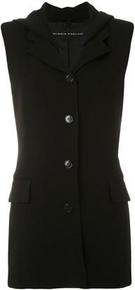 Gloria Coelho sleeveless blazer
