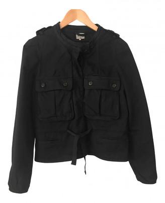 Bellerose Navy Cotton Leather jackets