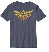 Fifth Sun Boys' Tee Shirts NAVY - Legend of Zelda Navy Heather Gradientforce Tee - Boys