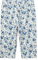Ralph Lauren Floral-Print Cotton Pant
