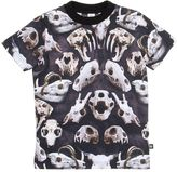 Molo Skull Printed Cotton Jersey T-Shirt