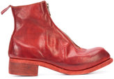 Guidi front zip ankle boots - men - Leather - 41