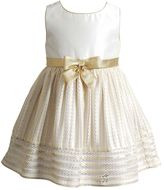 Youngland Toddler Girl Burnout Stripe Skirt Occasion Dress