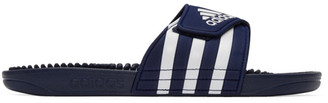 adidas Navy and White Adissage Sandals