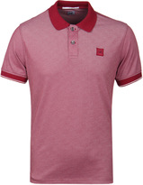Cp Company Cranberry Tacting Short Sleeve Polo Shirt