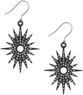 Lucky Brand Starburst Mother-of-Pearl Drop Earrings