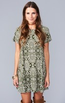 MUMU Em Mini Dress ~ Olive You Spandy