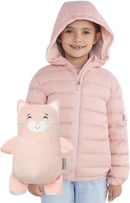 Cubcoats Kali 2-in-1 Stuffed Animal & Hooded Down Jacket