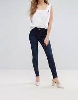 Miss Selfridge Turn Down Hem Skinny Jeans