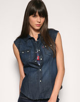 Levis Special Edition Product With Roots Denim Shirt