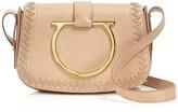 Salvatore Ferragamo Sabine Leather Saddle Bag