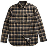 Ralph Lauren RRL Plaid Cotton-Wool Workshirt