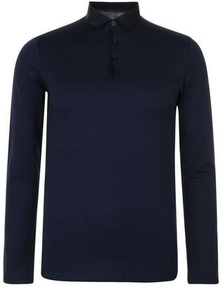 Lanvin Long Sleeved Polo Shirt