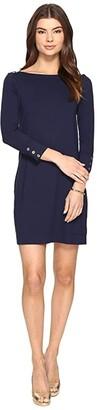 Lilly Pulitzer UPF 50+ Sophie Dress (True Navy) Women's Dress