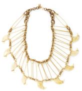Lulu Frost Resin Horn Bib Necklace