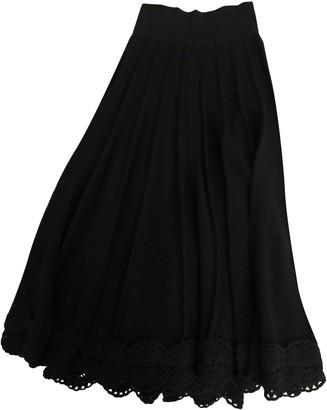 Sonia Rykiel Navy Cotton Skirt for Women Vintage