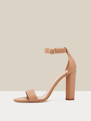 Diane von Furstenberg Ren Leather Sandals