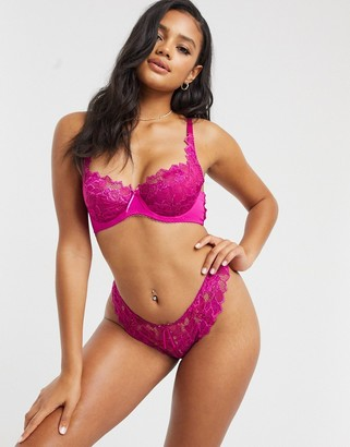 Lepel fiore full cup bra in magenta