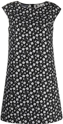 Boutique Moschino Floral Print Shift Dress