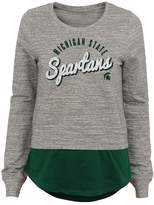 NCAA Juniors' Michigan State Spartans Mock-Layer Tee