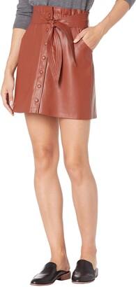 BB Dakota Women's Belt So Real Skirt