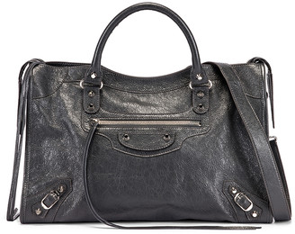 Balenciaga Classic City Bag in Grey | FWRD