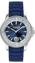 Versus By Versace Women's SGM240015 Tokyo Crystal Analog Display Quartz Blue Watch