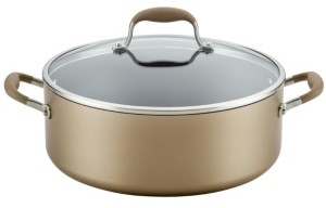 Anolon Advanced Home Hard-Anodized 7.5-Qt. Nonstick Wide Stockpot