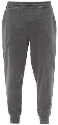Lahgo - Restore Cotton-blend Track Pants - Dark Grey