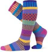 Solmate Socks Mismatched Knee High Socks, USA Made, Large