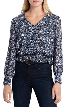 1 STATE Chateau Floral Top